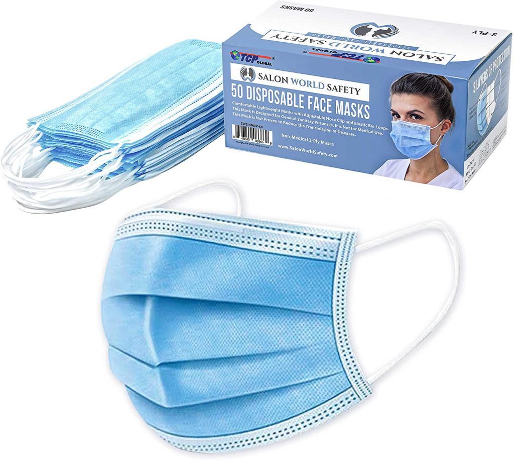 TCP Global Salon World Safety Masks