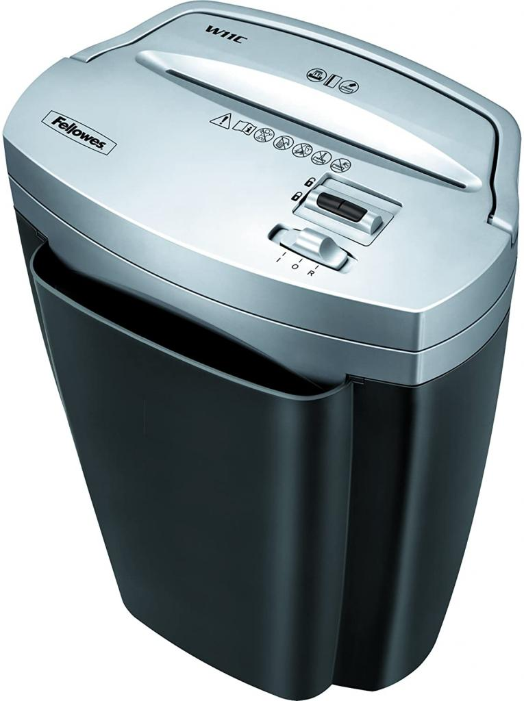 Fellowes Powershred W11C, 11-Sheet Cross-cut Paper, and Credit Card Shredder