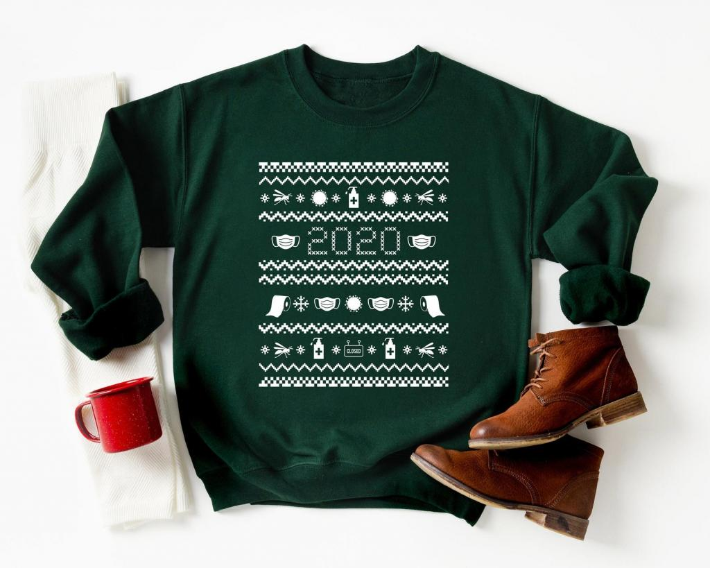 A not-so-ugly chic Christmas sweater