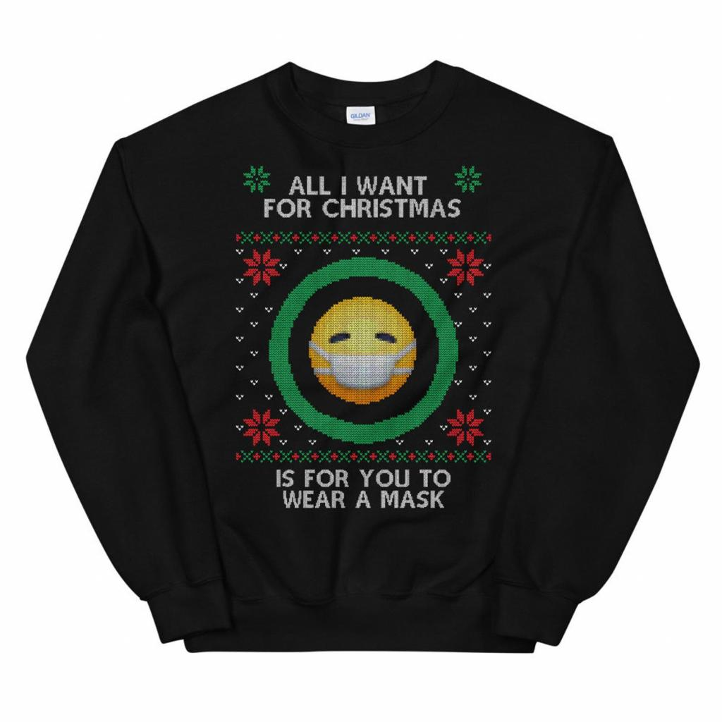Hilarious Covid Sweater for Mask Defaulters
