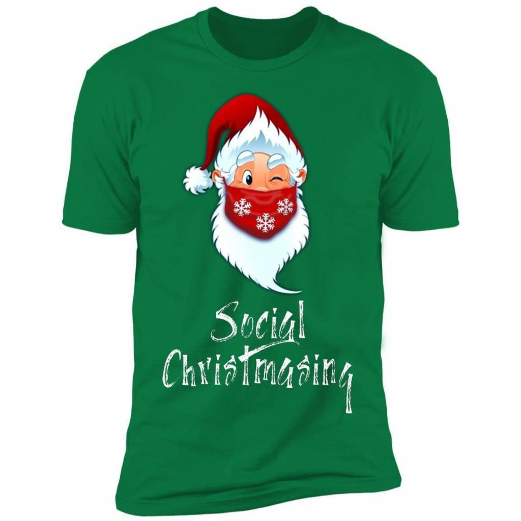 Social Christmasing t-shirt for those who hate sweaters