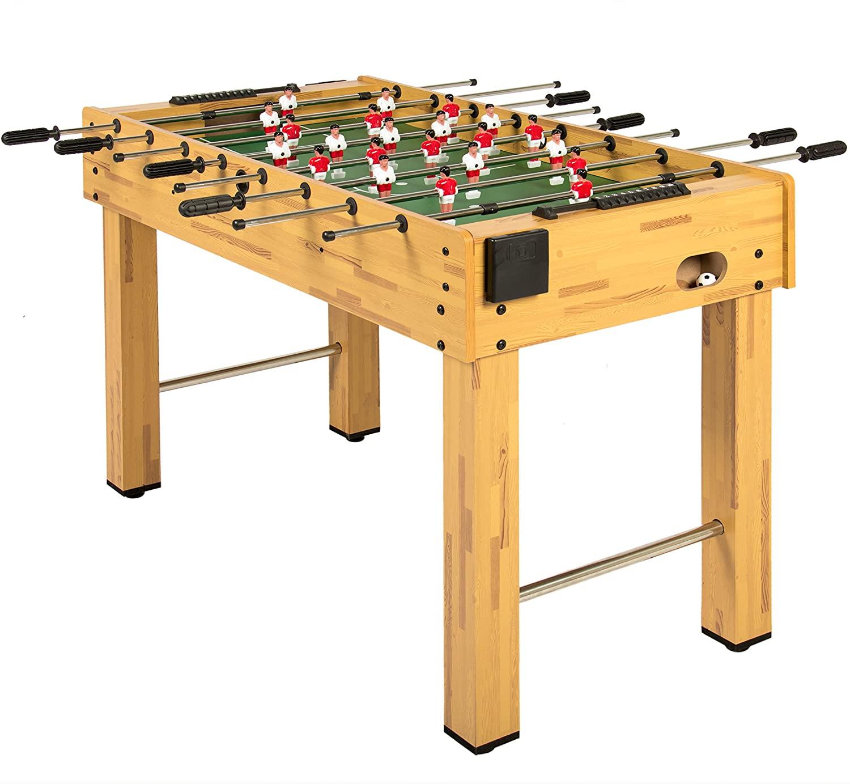 KICK Liberty 48-inch Black Foosball Table