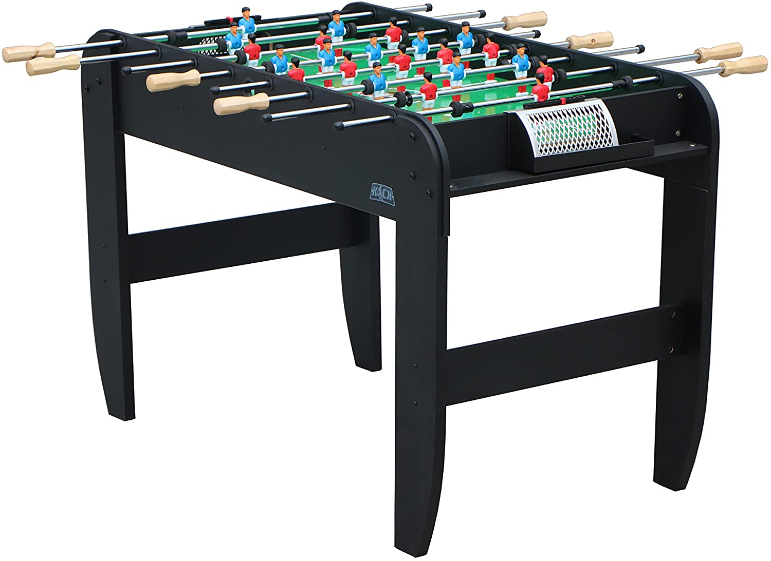 KICK Liberty 48-inch Black Foosball Table