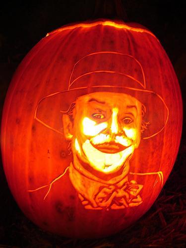jack nicholson joker pumpkin face - Walyou