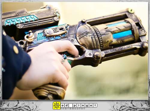 Weapons for the Smart People Nerf-Steampunk-Gun