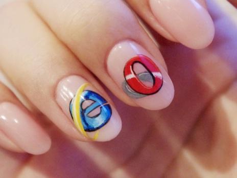 نسل جدید اینترنت روی ناخن های شما