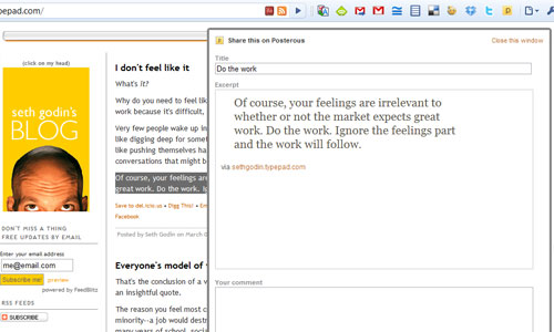 Chrome Apps for Bloggers