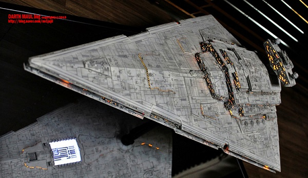 large scale star wars imperial star destroyer model