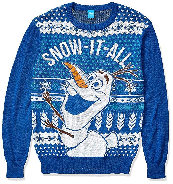 8 Best Disney Frozen Ugly Christmas Sweaters - Walyou